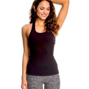 NEW BEYOND YOGA RACERBACK TANK WITH BUILT IN BRA